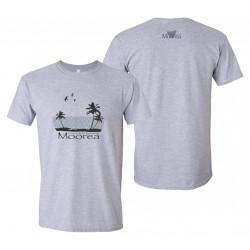 Men's t-shirt - Moorea Palms