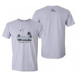 Men's T-shirt - Tahiti Palms